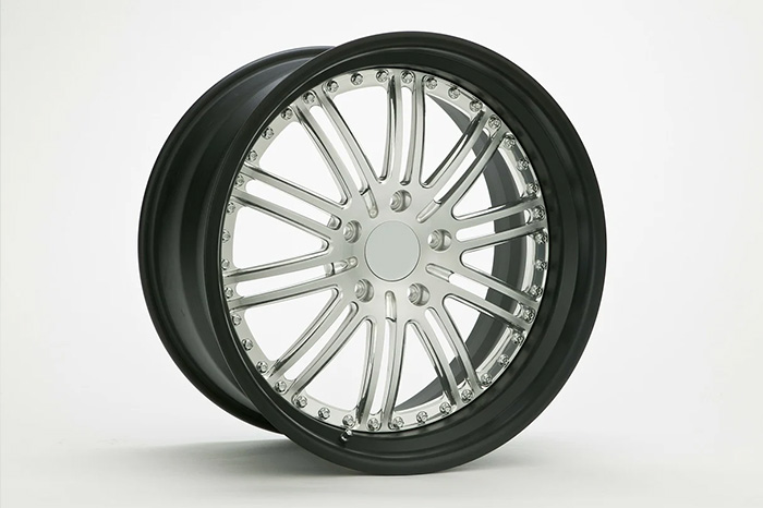 car wheel without tyre