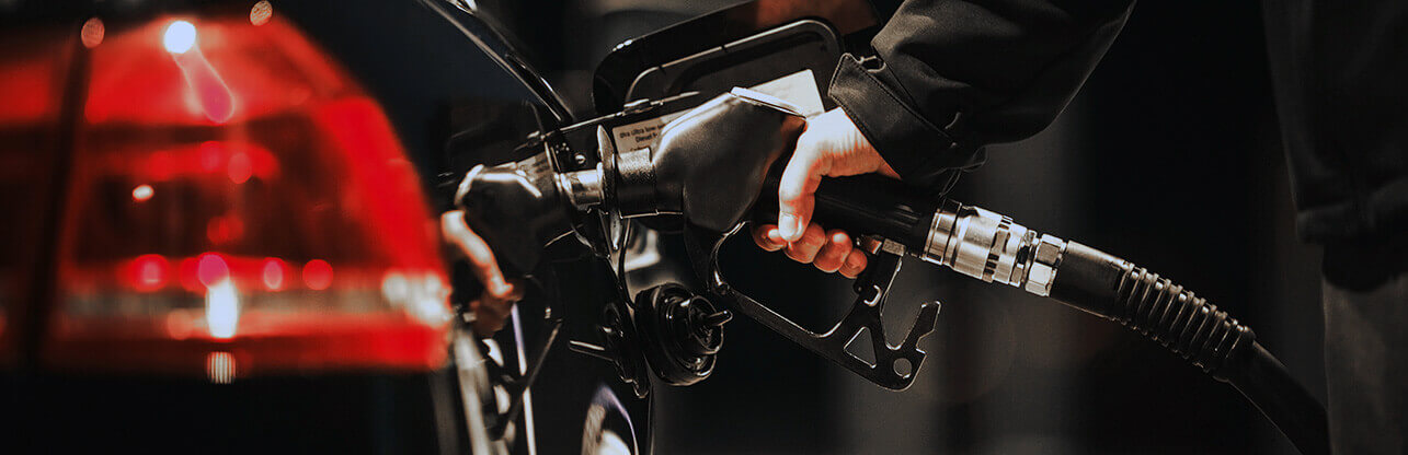 filling up a car with petrol
